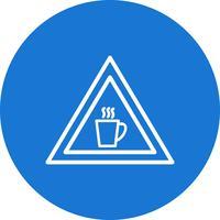 Vector cafetaria verkeersbord pictogram