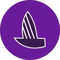 Vector jacht pictogram