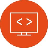 Vector Code optimalisatie pictogram