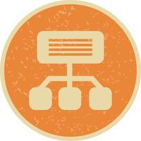 Vector Sitemap pictogram