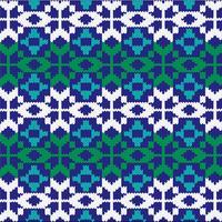 Brei een noords patroon vector