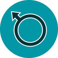 Vector mannelijke pictogram