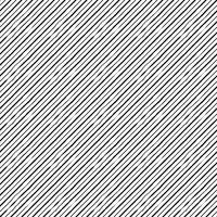 Naadloos patroon met diagonale vervormde lijnen vector