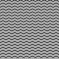 Naadloos patroon met driehoek golf lijnen vector