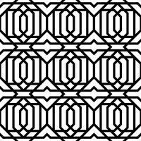 Vintage geometrische naadloze patroon vector