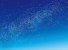 Melkwegachtergrond, vectorillustratie.