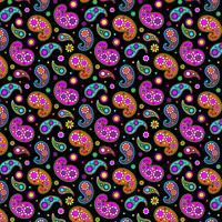 helder paisley-patroon