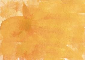 Kleurrijke handgeschilderde aquarel achtergrond. Gele aquarel penseelstreken. Abstracte waterverftextuur en achtergrond voor ontwerp. Waterverfachtergrond op geweven document. vector