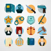 Wet Icons Flat vector
