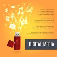 USB Flash Drive Media