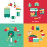 Keuken ontwerpconcept