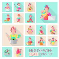 Huisvrouw Flat Set