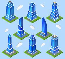 Planningelement kantoorindustrie vector