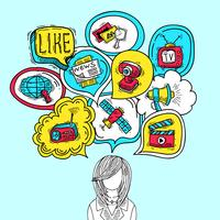 media bubbels concept