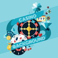 Casino gokken achtergrond vector