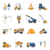Bouw Icons Set vector