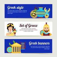 Griekenland banner set