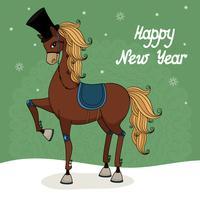 gelukkig nieuwjaar vector