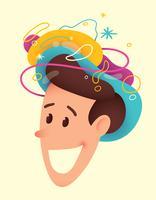 Geestelijke gezondheid illustratie vector