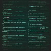 software engineering achtergrond vector