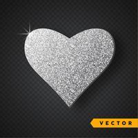 zilver schittert hart