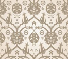 Bloemen naadloze patroonachtergrond vector