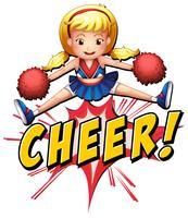 Cheer flash-logo