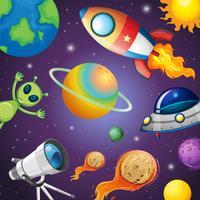 Zonnestelsel en ruimte