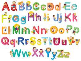 Letters van het alfabet