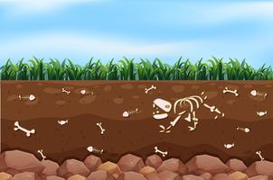 Een ondergronds en een boerderij