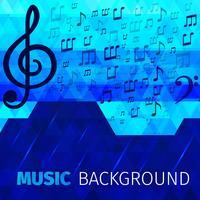 Muziek abstracte achtergrond vector