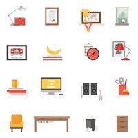 Room enkele pictogrammen vector