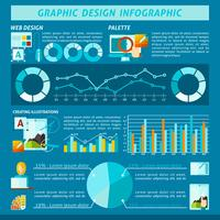 Grafisch ontwerp Infographics vector