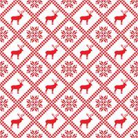Traditioneel Skandinavisch patroon. Noordse etnische naadloze achtergrond