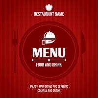 Restaurant menu ontwerp