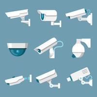 Beveiligingscamera's pictogrammen instellen