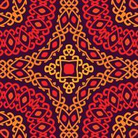Kleurrijk stammen etnisch naadloos patroon.