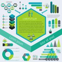 Infographic elementen ontmoeten vector