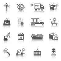 Logistieke pictogrammen instellen