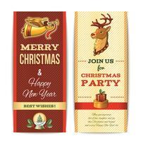 Kerst banner verticaal