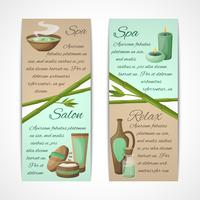Spa banners verticaal