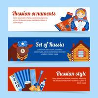 Rusland reizen banner set