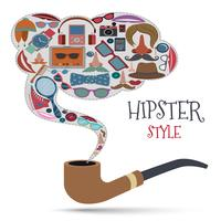 Hipster stijl concept vector