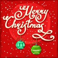Kerst achtergrond sjabloon vector