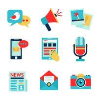 Media pictogramserie