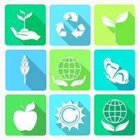 Ecologie pictogrammen instellen