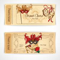 Theater sketch tickets
