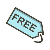 Vector gratis labelpictogram