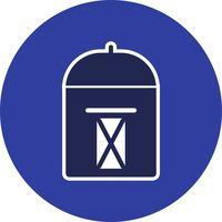 Vector postbus pictogram