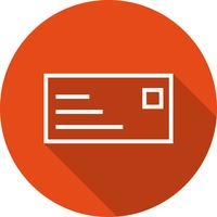 Vector ID-kaart pictogram